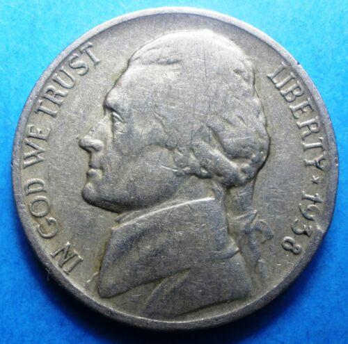1938-D Jefferson Nickel   1st year of series  low mintage