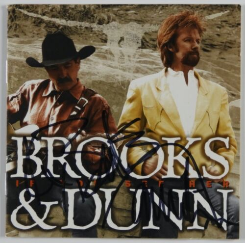 Brooks and Dunn JSA Signed Autograph CD Country If You See Her