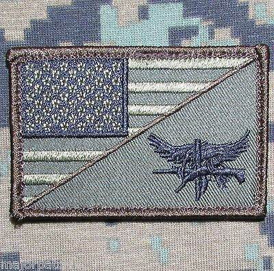 SWAT EAGLE USA AMERICAN FLAG ARMY MILITARY MORALE TACTICAL FOREST VELCRO PATCH