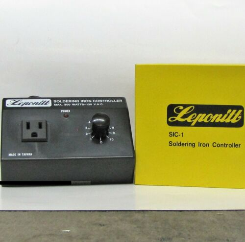 Leponitt Rheostat Soldering Iron Temperature Control for irons up to 800 watts