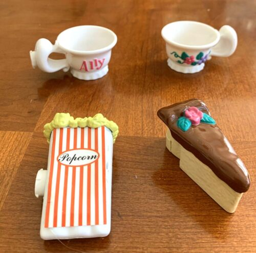 AMAZING ALLY DOLL  interactive  POPCORN CAKE and CUPS Playmates Toys