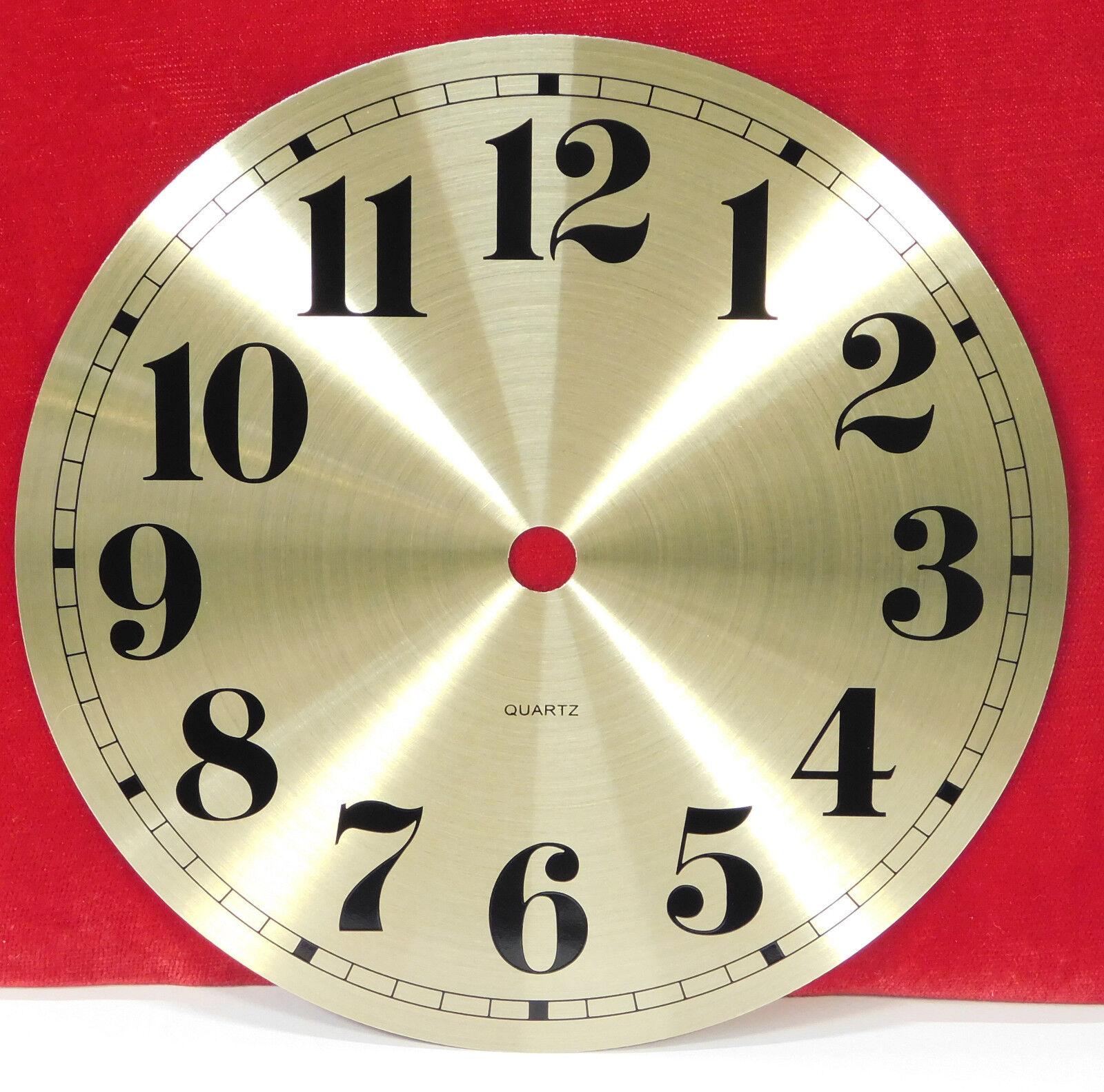 "Gold Bezel 55MM 2-1//8/"" Roman PREMIUM QUARTZ CLOCK Insert Metal Case"