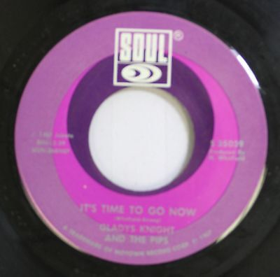 Soul 45 Gladys Knight And The Pips   Its Time To Go Now   I Heard It Through T