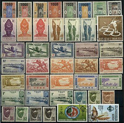 Togo 42 Stamps Mainly MH #E83550