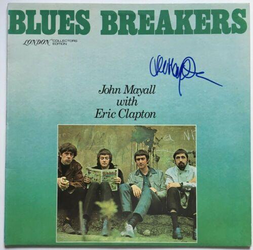 JOHN MAYALL signed autograph LP