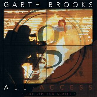 GARTH BROOKS ALL ACCESS DVD - LIMITED SERIES - 2005 - LIKE NEW