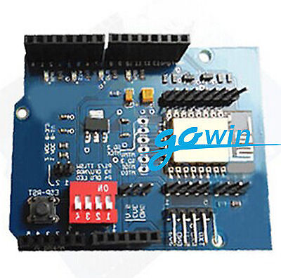 Arduino UNO R3 ESP8266 Serial WiFi Shield Extend Board With ESP-12E CC3000