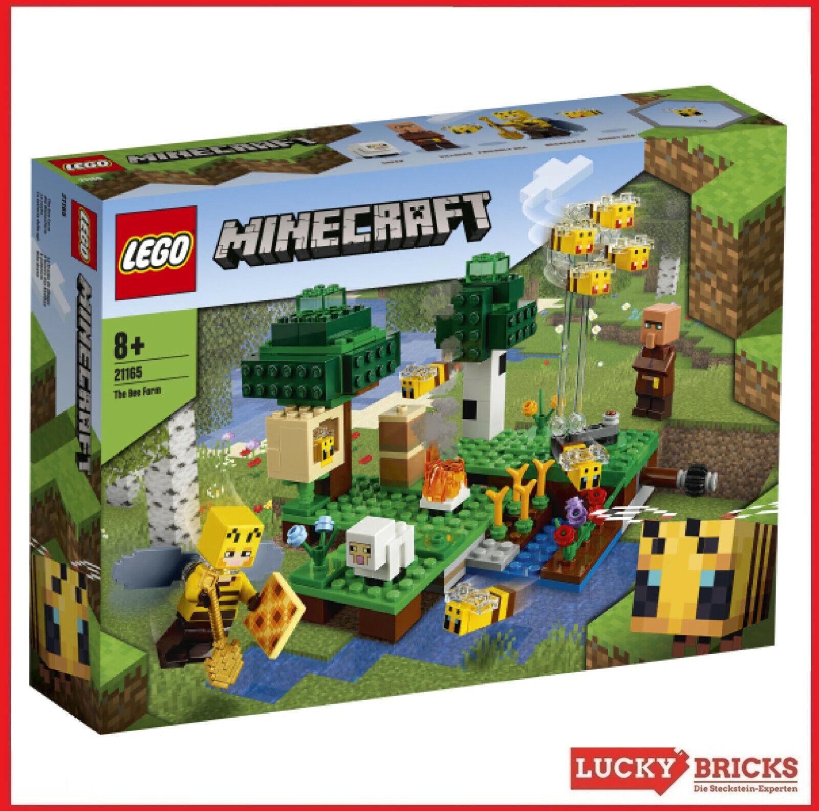 LEGO® Minecraft™ - 21165 Die Bienenfarm + NEU & OVP +