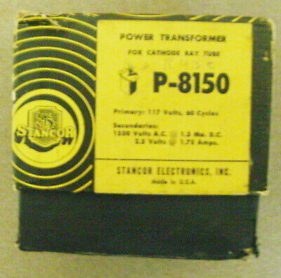 Stancor P-8150 Transformer Nib Surplus