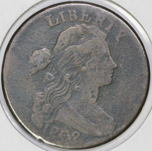 1802 1c Draped Bust Large Cent UNSLABBED