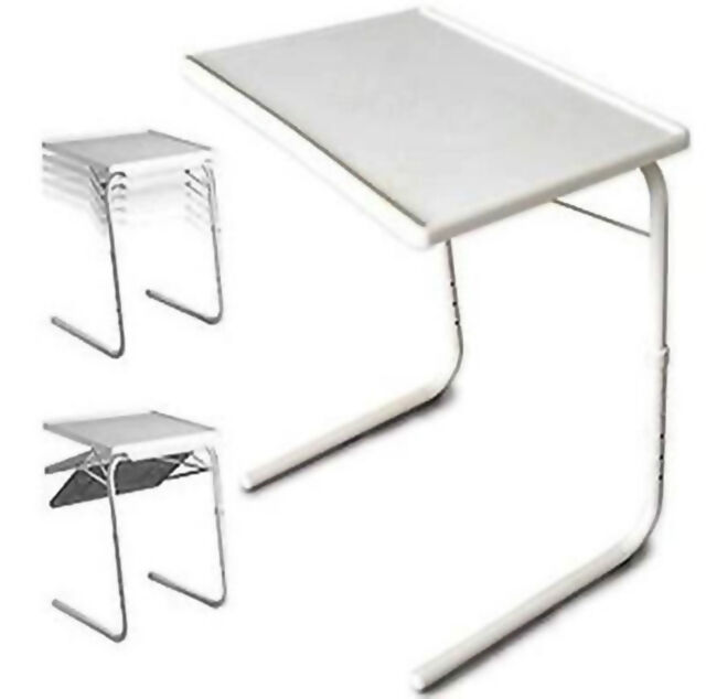 Best Folding Sofa Table Tray Dinner Study Tv Snack Portable Food Stand  Laptop Couch With Folding Snack Tables With Stand