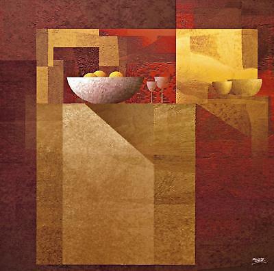 Fernando Hocevar Fantasy III Poster Kunstdruck Bild 50x50cm - Germanposters
