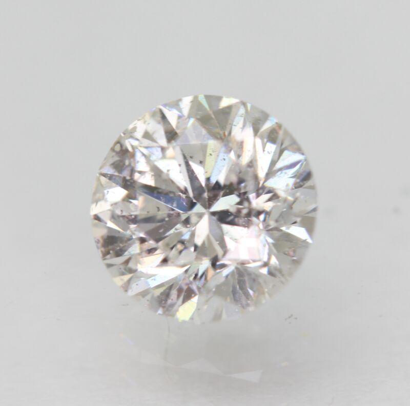 Certified 0.80 Carat D SI1 Round Brilliant Enhanced Natural Diamond 5.89mm 3VG