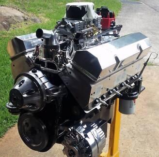 383-SBC-CHEV-STREET-STRIP-ENGINE-EAGLE-ROTATING-ASS-ALLOY- HEADS