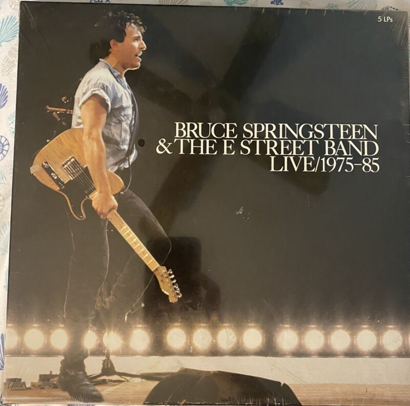 Bruce Springsteen & The E Street Band / Live 1975-85 / 5 LPs New in Box (SEALED)