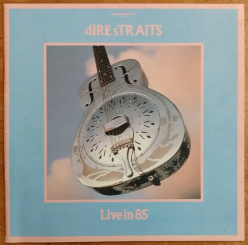 DIRE STRAITS 1985 TOUR PROGRAM 1985 Brothers In Arms Tour