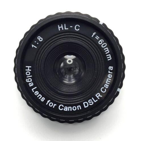 HOLGA Lens 60mm f/8 for Canon EOS DSLR Camera Photography Photo US SELLER
