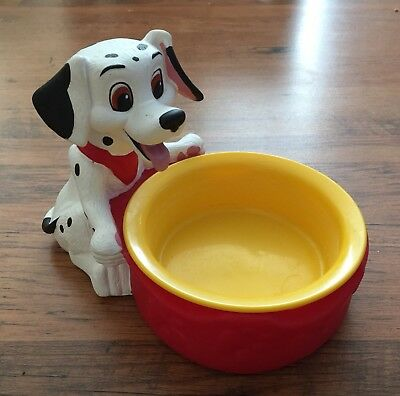 Disney 101 Dalmations Small Dog Bowl Cat Pet Bowl Dish Adorable
