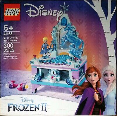 LEGO Disney Frozen II Elsa's Jewelry Box Creation 41168 with Elsa and Nokk NEW!