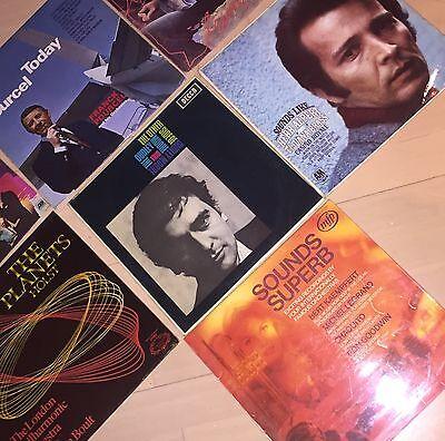 Job lot vinyl records The Planets, Pastiche, Herb Alpert, The Dudley trio, Pourc