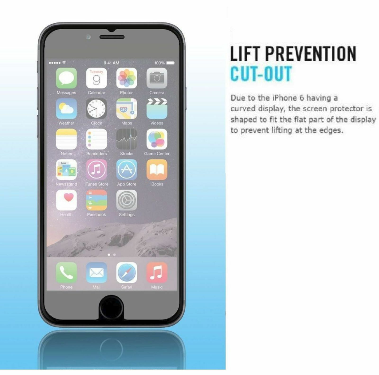 Купить Apple iPhone - Premium Real Screen Protector Tempered Glass Film For iPhone 6 7 8 Plus Xs Max