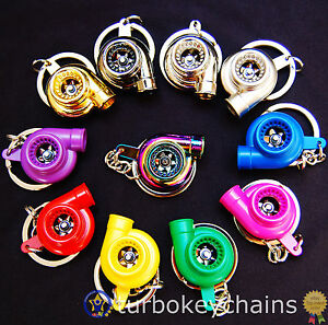 Turbo-Charger-Keychain-Keyring-Choice-of-Colours-See-Video