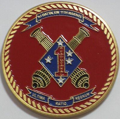 United States Marine Corps 1St Battalion 11Th Marines Ultima Ratio Regnum