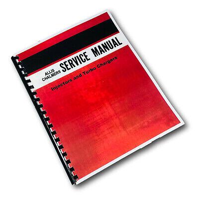 IT Shop Allis Chalmers 7010 Tractor Service Manual Patio, Lawn ...