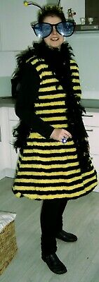 BIENE MAJA ~ Plüsch Karnevall-Kostüm / Fasching, Erwachsene, - Erwachsenen Bienen Kostüme