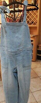 Vintage Overalls & Jumpsuits Overalls women denim $28 size large $28.00 AT vintagedancer.com