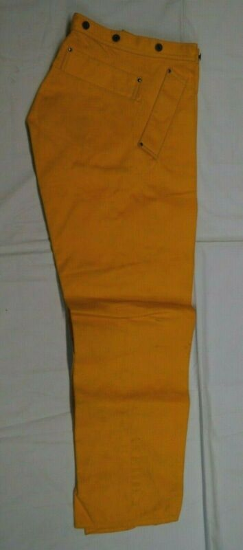 Canadian Forces Firefighter Bunker Trousers NOS 30 Waist