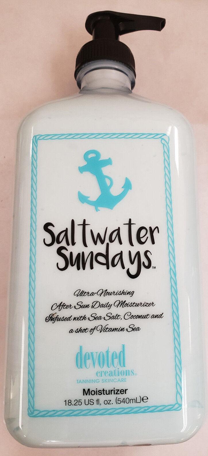 NEW 2018 Devoted Creations Saltwater Sundays Moisturizer 18.