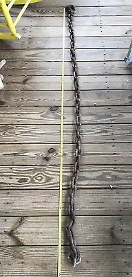 Thick Logging Chain Towing 82 Links 2x3 Heavy Duty Vintage Farm Tractor