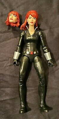 "Marvel Legends 6"" Black Widow Figure Preowned Infinite Riders Series from Cycle"