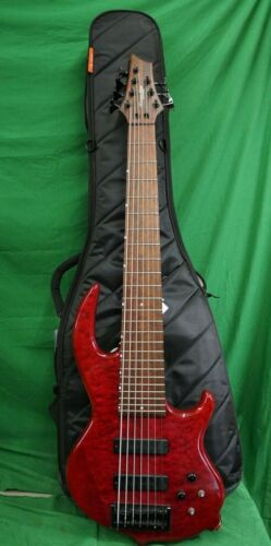 7 String Bass Guitar Groove Tools By Conklin Made In Korea & Mono Bass Case