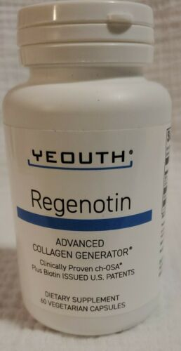 Yeouth Regenotin Advanced Collagen Generator - 60 Capsules - 11/2021
