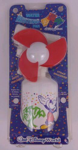 Walt Disney World Vintage 1990's Water Misting Fan w/Strap M