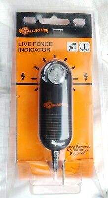 G51100 Electric Fence Live Indicator New