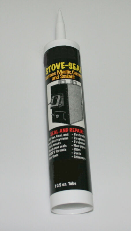 Ceramic Castable Stove Seal 3,000F Caulk Repairs Kilns, Fireboxes, Ovens, etc.