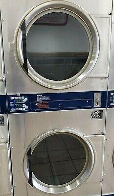 Dexter Stainless Steel Stack Dryer Coin Op 30lb 120v Model Dl2x300 Refurb