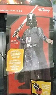 Star Wars Darth Vader Halloween Costume Size Boy's Small 3-4 years Rubies Target - Star Wars Halloween Costumes Target