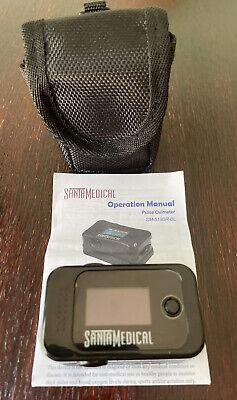Santamedical Pulse Oximeter Fingertip Blood Oxygen Saturation Sm-519br-bl Wcase