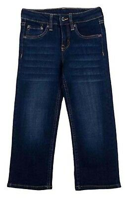 - Lee Boys Premium Select Sure 2 Fit Straight Leg Jeans Dark Wash