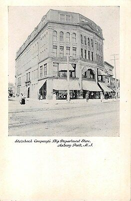 Big Party Store (c.1910 Steinbach Company's Big Department Store Asbury Park NJ post)