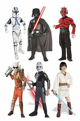 Official Licensed Star Wars Kids Fancy Dress Costume Outfit Film TV Book Week