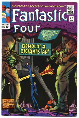 FANTASTIC FOUR #37 F, Stan Lee, Jack Kirby, Marvel Comics 1965