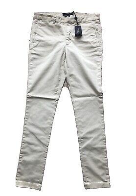 Polo Ralph Lauren Ladies Brooke Skinny Chino Pants Size 8 Khaki Retail $145 NEW (Polo Ralph Lauren Skinny Brooke Chino Pant)