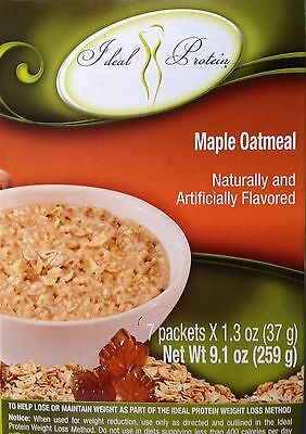 Ideal Protein Box Maple Oatmeal New