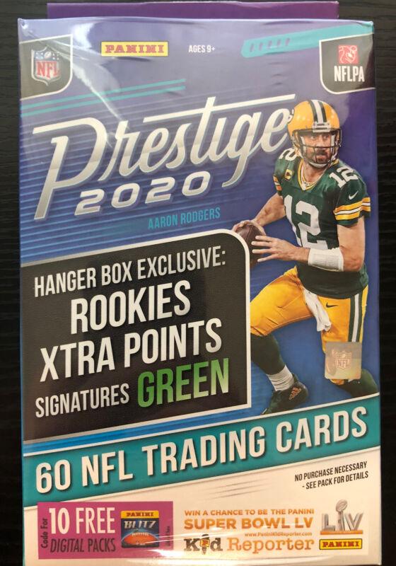 2020 Panini Prestige Football Hanger Box Joe Burrow Tua rookie auto?? prizm