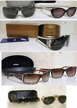 Genuine Dior ,PRADA, .Cartier.Ray-Ban,Armani.Sunglasses South Yarra Stonnington Area Preview